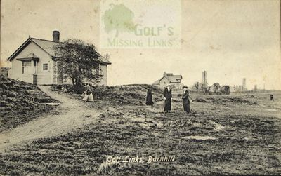 Barnhill Golf Club, Dundee. Ladies on the links.