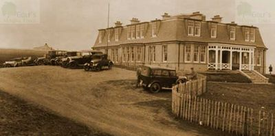 Bonnyton Moor Golf Club, Eaglesham, Renfrewshire. The Bonnyton Moor Clubhouse.