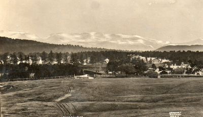 Carrbridge Golf Club, Highland. The course in the 1940s.