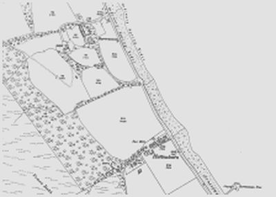 Clynder Golf Club, Argyll & Bute. 1898 O.S map of the area.
