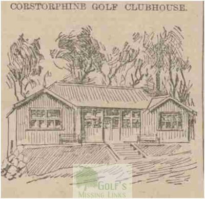 Corstorphine Golf Club, Edinburgh. The clubhouse.