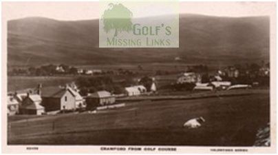 Crawford Golf Club, Lanarkshire. View of the course.