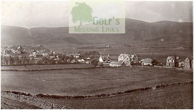 Crawford Golf Club, Lanarkshire. The golf course in 1909.