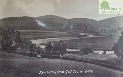 St John's Town (Dalry) Golf Club, Kirkudbrightshire. A view of Ken Valley from the Golf Course.