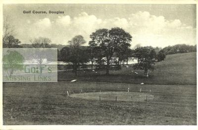 Douglas Golf Club, South Lanarkshire. View of the golf course.