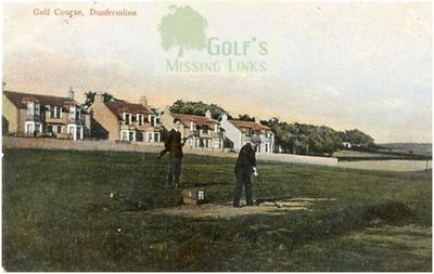 Dunfermline Golf Club. Postcard, but which course?