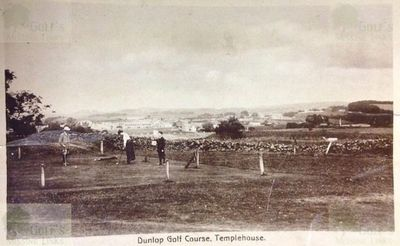 Dunlop Golf Club, East Ayrshire. The golf course in the early 1920s.