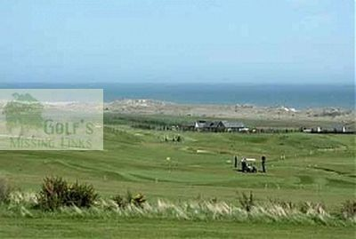 East Aberdeenshire Golf Club, Balmedie. View of the course.