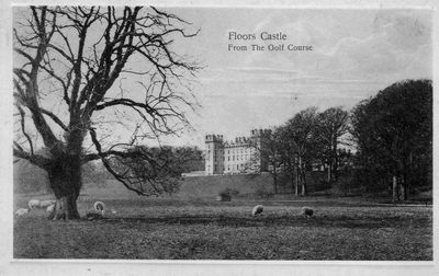 Floors Castle Golf Course. Postcard published by J & J H Rutherfurd, Kelso.
