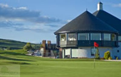 Glenisla Golf Club, Alyth, Perthshire. Glenisla Golf Club Clubhouse.
