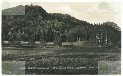 Inverarary Golf Club, Argyll. The course in the 1920s.