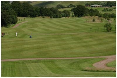 Kames/Mouse Valley Golf Club, East Lothian. View of the Mouse Valley course.