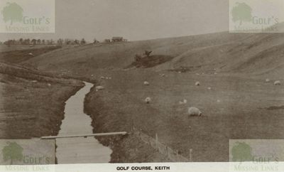 Keith Golf Club, Moray. A view of the course in the 1920s.