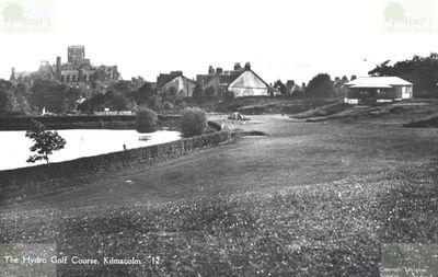 Kilmacolm Hydro Hill Golf Club, Renfrewsire. View of the former course.