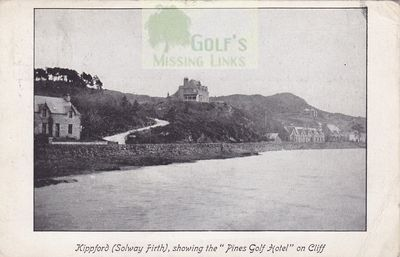Kippford Golf Club, Dumfries & Galoway. The Solway Firth.