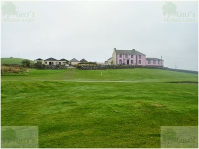 Lagganmore Golf Club, Dumfires & Galloway. The clubhouse and hotel.