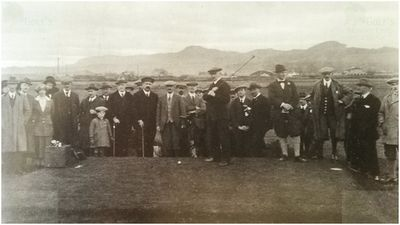 Longman Municipal Golf Club, Inverness. Opening of the Longman course.