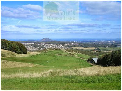Lothianburn Golf Club, Edinburgh. The fourteenth hole.