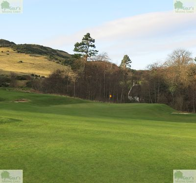 Lothianburn Golf Club, Edinburgh. Pictures of the former Lothianburn course take by Dr. Douglas Lockhart in January 2020.