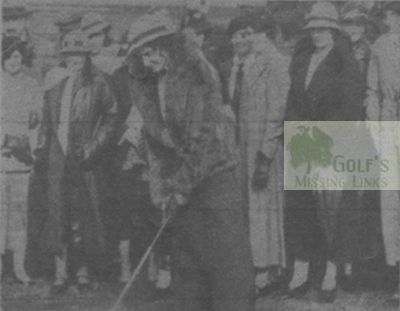 Maud Golf Club, Aberdeenshire. The official opening.