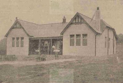 Motherwell Golf Club, Lanarkshire. The clubhouse 1913.