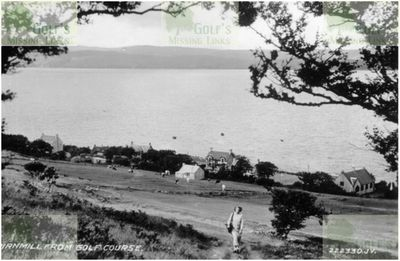 Pirnmill Golf Club, Arran. Later picture of the course.