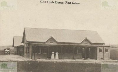 Port Seton Golf Club, Cockenzie, East Lothian. The Port Seton clubhouse.