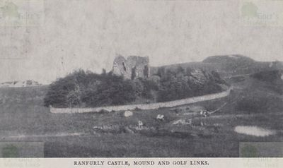 Ranfurly Castle Golf Club, Renfrewshire. The Golf Links in 1902.