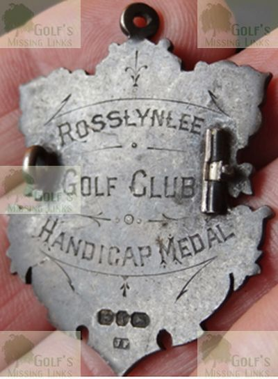 Rosslynlee Golf Club. Handicap medal.