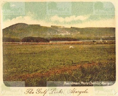 Abergele & Pensarn Golf Club, Conwy. The course pre WW1.