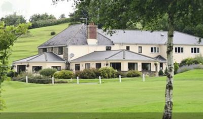 Alice Springs Golf Club, Usk, Monmouthshire. The clubhouse and course.