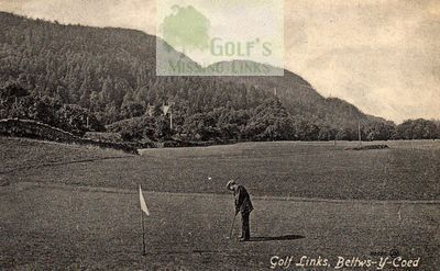 Bettws-y-Coed Golf Club, Conwy. View of the former course.