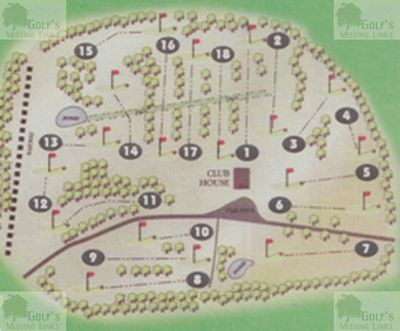 Beckenham Place Park Golf Club, London. Beckenham Place Park Golf Course layout.