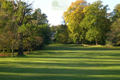 Beckenham Place Park Golf Club, London. Later picture of the golf course.