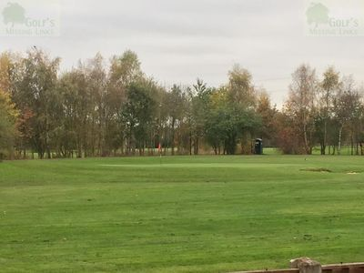 Boysnope Park Golf Club, Barton Moss, Manchester. Picture of the golf course.