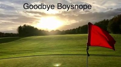 Boysnope Park Golf Club, Barton Moss, Manchester. The Sad Goodbye.