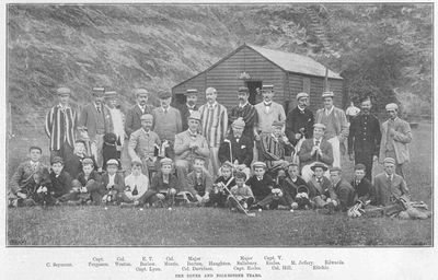 Dover Golf Club, Kent. Article from the Illustrated Sporting Dramatic News September 1894.