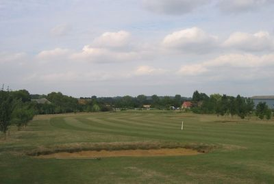 Hemingford Abbots Golf Club, Hungerford, Cambs. View of the golf course.